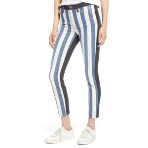 Current/Elliot high waisted jeans bay stri…